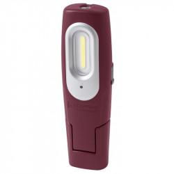 Lampe de Travail Rechargeable, 2+1 W COB-LED à accu 3.7V Li-Ion