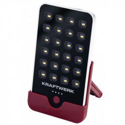 Lampe de poche 24 SMD-LED à batterie rechargeable