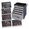 Servante 7 tiroirs 266 outils avec module mousse EVA