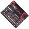 Module d'outils de coupe et de limes EVA3 - 26pieces