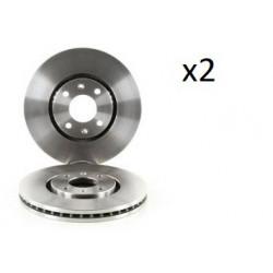 2x Disques de Frein Avant - Citroen C5 Xantia 104545389