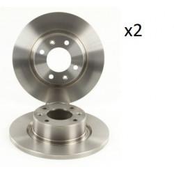 2x Disques de Frein Arriere - Citroen C5 104545399