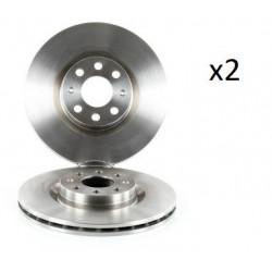 2x Disques de Frein Avant - Fiat Punto Opel Adam Corsa 104580719
