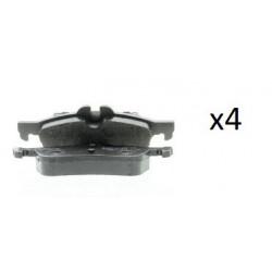 4x Plaquettes de Frein Arriere - Mini R55 R56 R57 R58 R59 101120059