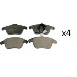 4x Plaquettes de Fein Avant - Audi Q3 Seat Alhambra Vw Sharan Tiguan 2433301