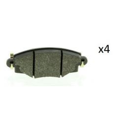 4x Plaquettes de Frein Avant - Citroen C5