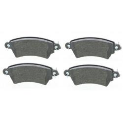 4x Plaquettes de Frein Avant - Citroen Xsara Peugeot 206 306 101735209 FIRST Plaquettes de freins