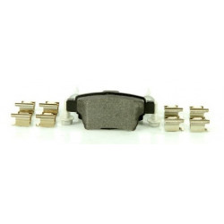 4x Plaquettes de frein Arriere - Citroen C4 Bosch 101545689