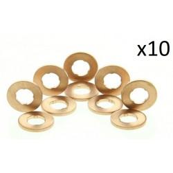 10x Joints d'étanchéité, porte-injecteur BOSCH F00VC17503