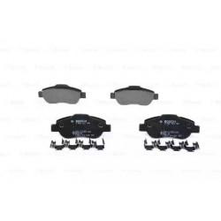 4x plaquettes de frein - Fiat Panda 0986424786