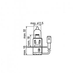 AMPOULE OBN H3 12V 55W 52363