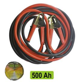 CABLES DE DEMARRAGE 50MMX2 / 3M PINCE EN LAITON 52071