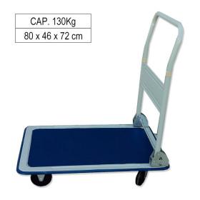 CHARIOT PLATEFORME ACIER CAP. 130KG 52200