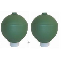 2 Spheres Accumulateur de Suspension Avant - Citroen Xm 22499*2