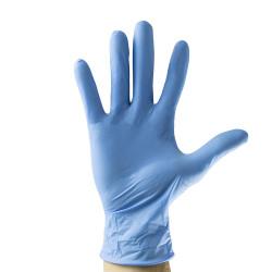 Boite 100 Gants Bleus en Nitrile T. L 3.5MIL 42448
