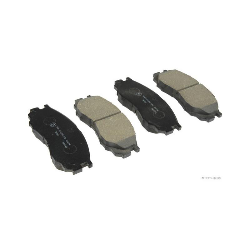 Jeu de 4 plaquettes de frein Mitsubishi L200 L300 L400 J3605035 NIPPARTS VH