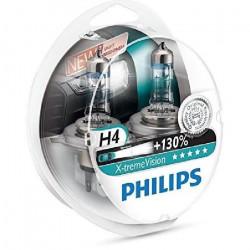 Coffret 2 Ampoules H4 - Philips VisionPlus