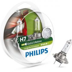 Coffret 2 Ampoules H7 - Philips EcoVision
