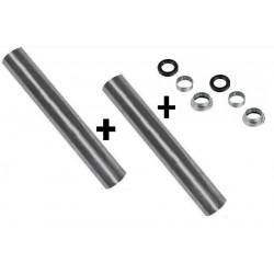 2 Kits Roulement + 2 Axes de Bras Train Arriere - Peugeot 206 BF-kt002*2+ KT002-A*2