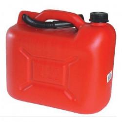 Jerrican Plastique Rouge -Bidon 20 L 358