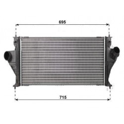Radiateur Echangeur de Refroidissement Turbo - Peugeot 406 2.2 Hdi 0708.3003