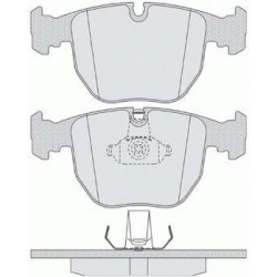 Jeu de Plaquettes de Frein Avant - Bmw Serie 3 E39 - Serie 7 E38 - X3 E83 - X5 E53 101110809