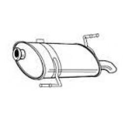 Silencieux d Echappement Arriere - Peugeot 206 SW et Break 1.6 - 2.0 HDI 22800